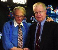 Larry King with Tom Justin